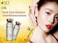 Wholesale neck skin care K gold high end gold revive essence neck beauty Whitening Moisturizing make up