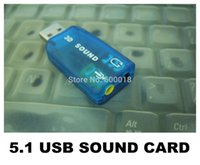 Wholesale USB D Sound Card computer components usb audio adapter