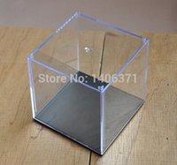 acrylic display box - Acrylic Plastic Display Box Case Plastic Box Dustproof Showcase Case Dollhouse Small Size cm H