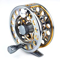 fly fishing tackle - ZF series Double color Aminum Die casting Fly Fishing reels fishing tackle BB RB Right left hand changeable