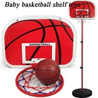 basketball poles - 2015 new coming baby toys and educational toys for boy kids with alloy pole and plastic basketball frame
