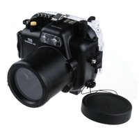 Cheap 40M Waterproof Underwater Housing Hard Case for Canon 70D Camera & 18-135mm Lens
