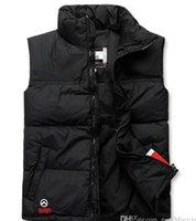 clothing sport coats - 2015 HOT New Winter Fashion Women Men Winter Down Vest Outdoor Casual Sports Women Vests Clothing Coats Men Down Outerwear S XXL