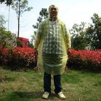 Wholesale AOTU Outdoor Disposable Emergency Rainwear Camping Hooded Poncho Camping Raincoats