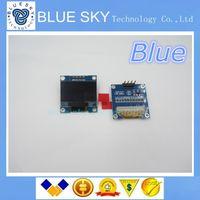 al por mayor i2c cii-Al por mayor-nueva 1Pcs blanco 128X64 OLED LCD de 0,96
