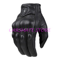 Wholesale Top Quality Motorcycle Gloves Motocross Sports Riding Racing Cycling Full Finger Bike Gloves real Leather