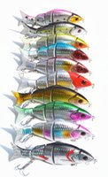 Wholesale 12cm g Minnow Fishing Lure Hooks Crankbait Crank Bait Custom Painted Color Fish Fishing Tackle