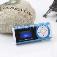 audio video designs - Portable Audio Video MP3 Players MP3 Music Player Mini Clip Design Digital LED Light Flash mp3 With speaker Support GB TF SD Card