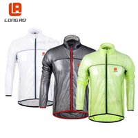 Wholesale 2015 New TOUR DE Transparent soft Reflective Breathable Bike wolfbike jacket Bicycle Cycling jacket Windcoat Jersey Jacket Windbreak Jacke