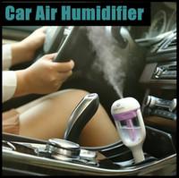 aerosol spray - 2015 New Original nanum Car Plug Air Humidifier Purifier Vehicular essential oil ultrasonic humidifier Aroma mist car fragrance Diffuser