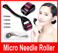 Wholesale 540 Micro Needles Derma Rolling System Micro Needle Skin Roller Dermatology Therapy System Health Beauty Equipment
