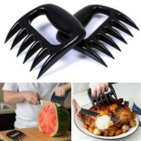 bbq grilling tools - Bear Claws Meat Fork Barbecue Grizzly Paws Handler Pull Shred BBQ Grill Tool Meat Poultry ToolsBlack White Color