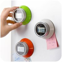 electronic clock timer - 99 minutes kitchen timer countdown timer rotating UFO magnet electronic alarm clock reminder