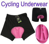 Wholesale 2013 New Women outdoor sports Bicycle Bike Cycling Underwear Gel D Padded Short Pants