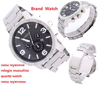 american fashion watches - New Brand Wristwatch Quartz Watch Date DZ American Men Stainless steel fossiler Casual Fashion Army table Masculino Relogio