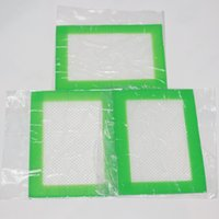 Wholesale Silicone Non stick Healthy Cooking Baking Mat Professional Grade Non Stick Cookie Sheets Small Square x4