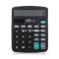 Wholesale Calculator Digits M General Purpose Dual Power Energy Saving Solar Power Calculator with LCD Display