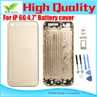 Wholesale 10pcs good quality housing Replacement Parts For Apple iPhone G inch Back Cover Full Housing Gold color
