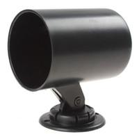 Wholesale New mm quot Auto Car Gauge Cup Holder Pod Black Universal Car Instrument Mount CEC_929