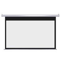 electric projection screen - Cynthia D K Fabric Electric Projection Screen