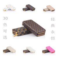2015 nouveau portefeuille de femmes de mode Double fermeture à glissière femmes sac à main portefeuille Embrayage Portefeuille Card Pack Femmes Sac Portefeuille zéro