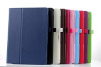 Wholesale Fold Stand Flip PU Leather Smart Magnetic Case With Pen Holder For Microsoft Surface inch Surface3 inch Pro Pro3