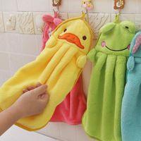 Wholesale New Cute Animals Baby Hand Towel Cartoon Baby Bath Towel KS0254