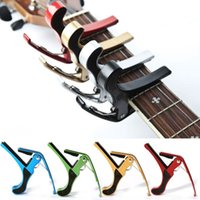 guitar capo - Trigger Guitar Capo Clamp Metal Acoustic Electric Quick Change Key Tune cx106