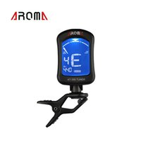 bass viola - Portable Clip on Guitar Tuner Electric Tuner Universal for Chromatic Bass Violin Viola Ukulele Aroma AT New Arrival I691