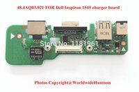 Wholesale Original High quality AQ03 FOR Dell Inspiron charger board DC jack board LAN board VGA board