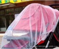 Wholesale New Arrival Baby stroller mosquito net Pram full cover side whipstitch encryption mosquito nets Buggy Pram Protector Pushchair