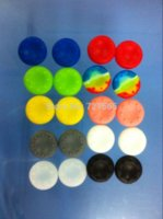 Wholesale sales promotion1000pcs Concave amp convex black silicone thumb grips for PS4 Playstation via FEDEX OR UPS