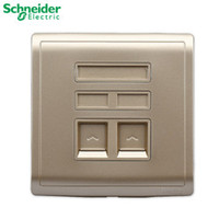 Wholesale Schneider Electric switch socket outlet phone computer network cable panel Feng still weak gold