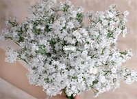 Wholesale Fashion Hot Gypsophila Baby s Breath Artificial Fake Silk Flowers Plant Home Wedding Decoration