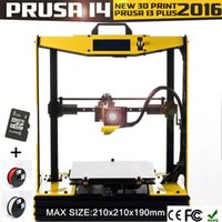 abs production - 2016 New Production prusa i4 Bumblebee Version Optional language Semi DIY d printer KG PLA ABS filament SD card as gift