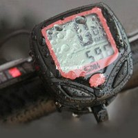 Wholesale MTB Cycling Bike Bicycle Computer Odometer Speedometer Waterproof Speed Watch