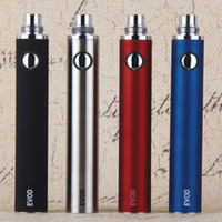 Wholesale EVOD mah Electronic Cigarette ego mah EVOD Battery evod eVod BCC battery For E Cigarette eVod MT3 CE4 CE5 Atomizer Clearomizer China