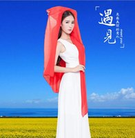 Wholesale 100 cm when ms color printing Pure color scarf and super long female fabric scarves the big shawl collar The scarf veil