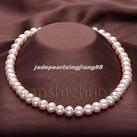 Wholesale 2014 New Rushed Freeshipping Collar Collares S721 Fashion Aaa mm Cultured Freshwater Akoya Pearl Necklace quot Bride Gift