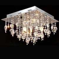 Cheap Square crystal lamp crystal lamp chandeliers