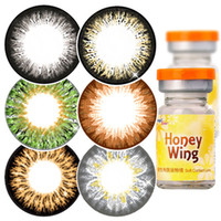 geo lens - GEO Circle Lens Honey Wing Series Colored Contact Lens Crazy Lens made in Korea authentic range of prescriptions ready stock