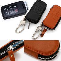 Wholesale Cay styling Genuine Leather Key Cover For Volvo S60 S60L XC60 XC90 C70 V40 V60 New Auto key bag