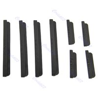 Wholesale sets Car Door Edge Guards Trim Molding Protection Strip Scratch Protector Black order lt no track