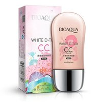 Wholesale BIOAQUA cc cream skin Whitening BB Creams faced foundation makeup concealer easy on the makeup moisturizing hot