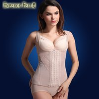 Cheap 2014 Real Latex Waist Cincher Breathable Gauze Lace Ultrathin Supporting Breast Abdomen Corset Belt Breasted Lady Underwear Vest