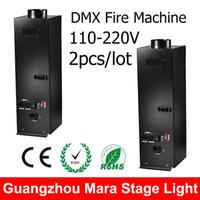 auto spray equipment - Stage Flame Machine DMX Wire Control Spray Fire Machine Stage Dj Equipment