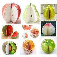 apple fruit cake - Fruit Apple Pear Orange Cake etc Note Pad Scratchpad Post it Paper Memo Gift shape