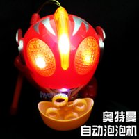 Wholesale Hot Lantern bubble lantern Altman flash music blowing bubbles with electric toys children play house