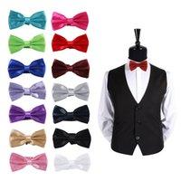Wholesale 2015 Bow Tie Classic Fashion Novelty Mens Adjustable Tuxedo Bow Tie Wedding Necktie MD411