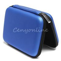 Pratique dur Bleu Carry Case Housse pour 2.5 USB HDD WD External Hard Disk Drive Protector Protéger Sac boîtier